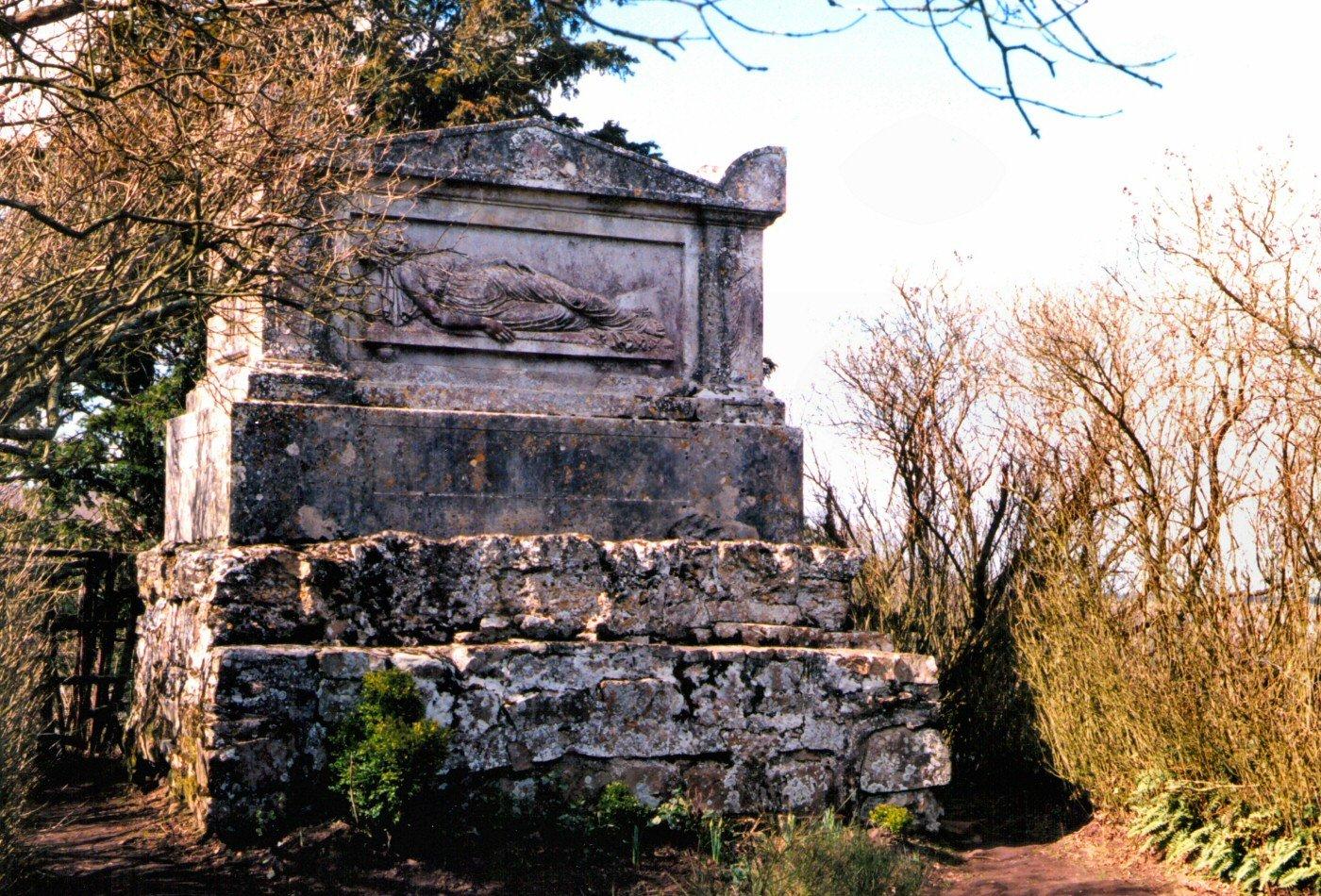 tombeau de Mary Joly