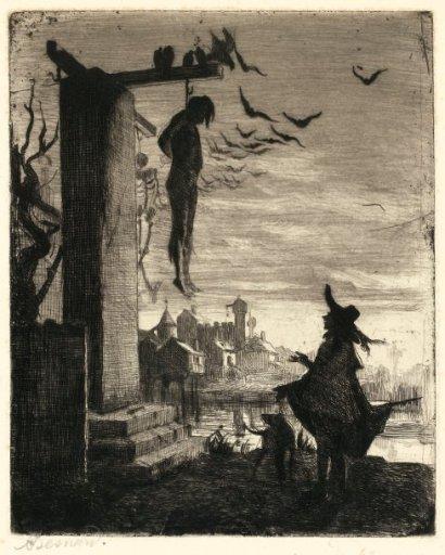 albert-besnard-le-pendu-1873-eau-forte
